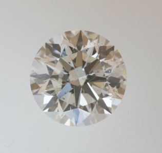 3.23 carat SI2 clarity J color